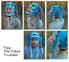 Fizz: The Tidal Trickster by TheCrochetDragon