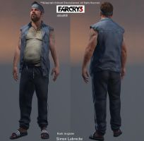 Farcry 3 Hurk Character by SLabreche