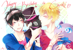 Happy Birthday Gareki! by SnakeyHoHo