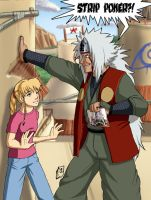 Jiraiya and Chelsee by Pinkuh