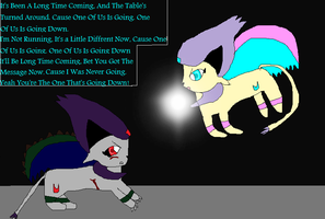 Song Pic: You're Going Down by LadyDelaisol