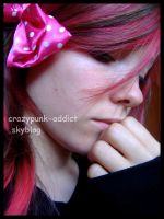 Pink hair I by crazypunk-addict