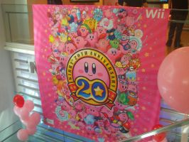 Kirby 20th at Nintendo World 02 by MarioSimpson1