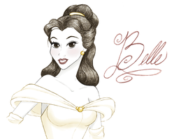 Beautiful Belle by TheRaineDrop