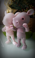 baby rhino BJD by DreamHighStudio