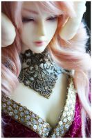 Shoppe : Floral Filigree Gorget by Nezumi-chuu