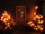 My house at Halloween R7 by NiennaSurion