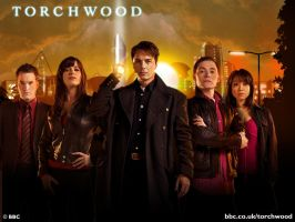 Torchwood Desktop Wallpaper by frostyrogue