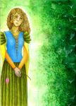 Gialki, the Magic Queen of Region of Deep jungle by Gawarin