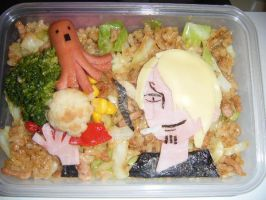 Sanji's bento (from One Piece) by WuHara