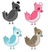 Birb adopts | closed by Flovvers