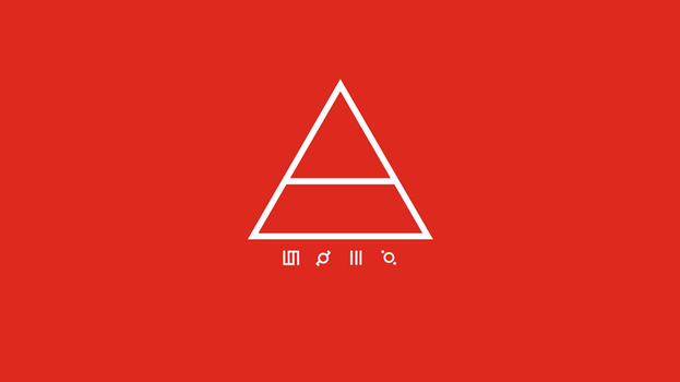 30 Seconds to Mars triad background (Red) by FastSniperfox