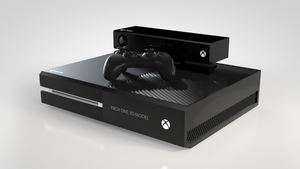 XBox One 3D Model (WIP) by rimax420
