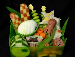 Under The Sea Bento by LaFoi