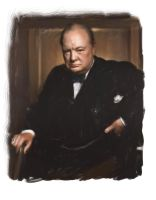 Winston Churchhill_by RoberLeSage by RoberLeSage