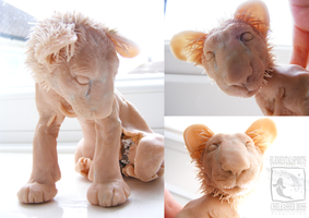 Lion Sculpture WIP by ElementalSpirits