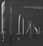 Swords, set #2 by Canada-Guy-Eh
