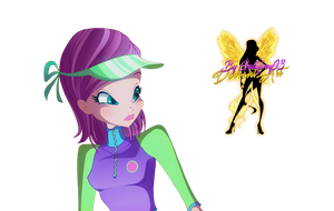 World of Winx Tecna Couture - PNG by Gallifrey93