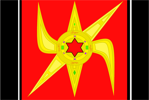 Flag - Vallorian Empire (Styrcia) by Sharklord1