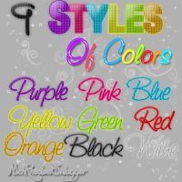 Styles Of Colors by MichRhodesSwagger