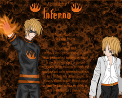 Inferno Reference Sheet by Hughesation
