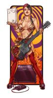Protone rock girl by WacomZombie