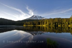 Rainier Reflection by rayt