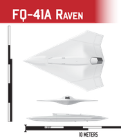 FQ-41 Raven UCAV by Afterskies