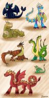 HTTYD Doodles by Snowbound-Becca