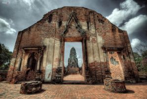 Wat Ratchaburana by mayonzz
