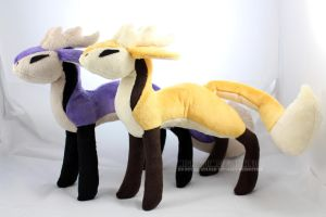 Sunshine and Amethyst Feer(for sale!) by MagnaStorm