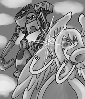Super fighting robot Jake by fallenjrblue