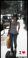 I luv Shopping. . by t3nshi