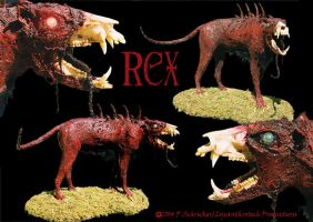 Canis adermata rex by nachtwulf