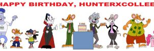 Happy Birthday HunterxColleen by HunterxColleen
