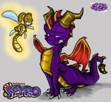 Eat ya heart out SPYROOOOO by Spyroflamesredsbum