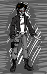 Karkat: Be the Red Hood by Arricia-sama
