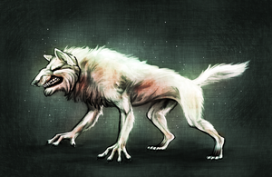 White Hunt by Wolframclaws