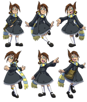 Chameleon Charm: Veronica Promotional Images by forte-girl7