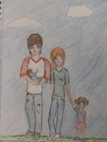Max and Colton parenting by allison767