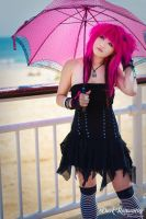 Beach Brolly by darkromantics