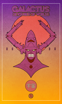 GALACTUS by francis001