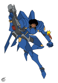 Pharah by Hierogriff