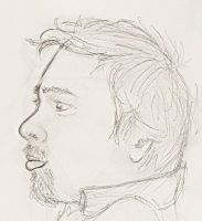 5 minute hubby sketch profile by froggieg