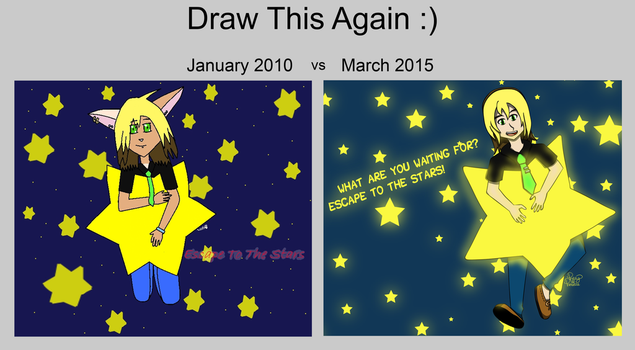 Draw This Again: Escape To The Stars by pretty-princette