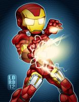 Speed Vector - Lil Iron Man by lordmesa