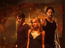 True Blood: Falling (Bill, Sookie, Alcide) by riogirl9909