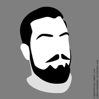 Another Bearded Gentleman Vectouette by Zombie-Kawakami