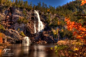 HDR Bridal Falls by Nebey