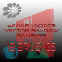 Vector Shadow Brushes by aeonflux707